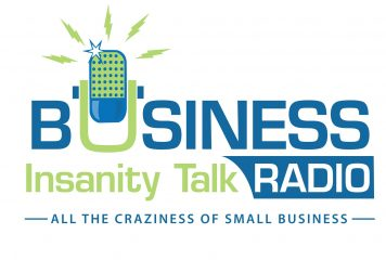 logo for Business Insanity Talk Radio