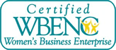 certified woman's business enterprise logo