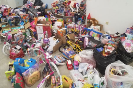 2017 Toy Drive for Jersey Battered Women's Services
