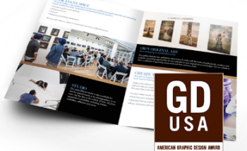 American Graphic Design Award winning brochure