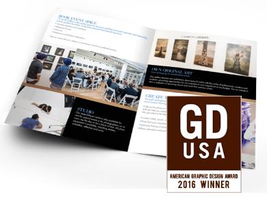 Winner of GDUSA's 2016 Graphic Design Award