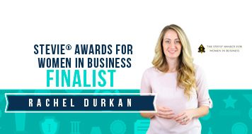 Rachel Durkan name finalist in 15th Annual Stevie® Awards for women in business