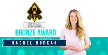 RACHEL DURKAN NAMED BRONZE AWARD WINNER AT  15TH ANNUAL STEVIE® AWARDS FOR WOMEN IN BUSINESS