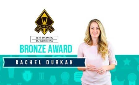 RACHEL DURKAN NAMED BRONZE AWARD WINNER AT  15TH ANNUAL STEVIE® AWARDS FOR WOMEN IN BUSINESS