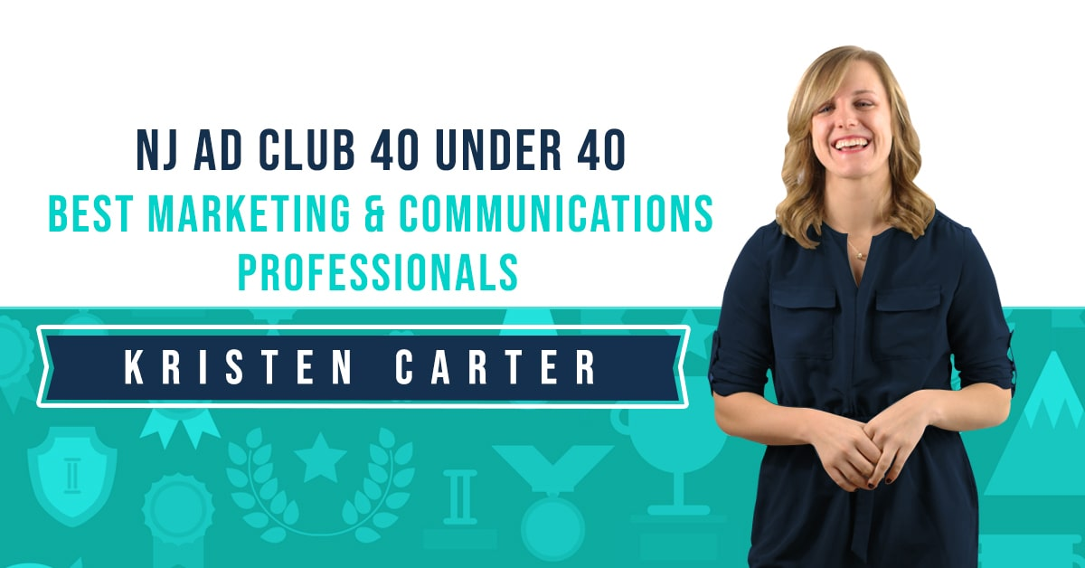 Paradigm Marketing & Design's Kristen Carter Recognized as one of New Jersey Ad Club's Best 40 Under 40