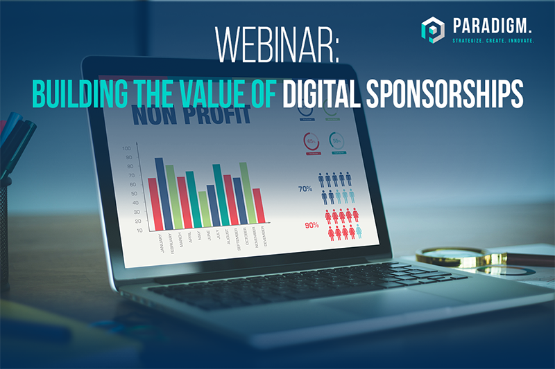 Webinar: Building the Value of Digital Sponsorships – Empowering Nonprofits to Build New Revenue Streams in the COVID-19 World