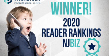 PARADIGM MARKETING & DESIGN EARNS 2020 NJBIZ READER RANKINGS DESIGNATION